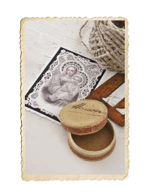 Mini bild, bönekort