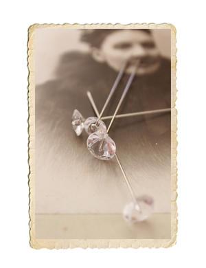 Diamant knappnål