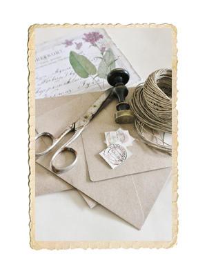 Kvistpapper kuvert