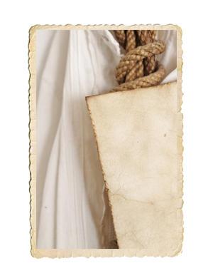Nyckelpiga bild tryckt på handgjort naturpapper