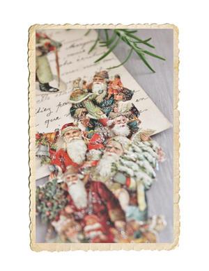 Bokmärken med jultomtar