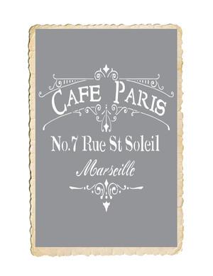 Schablon, Café Paris