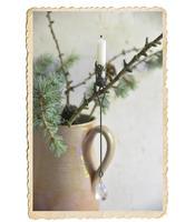 Ljushållare till julgransljus