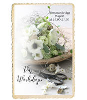 Workshop, Blommande ägg, 9 april